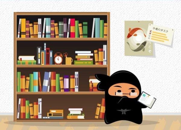 Ninja Shinoi researching content ideas