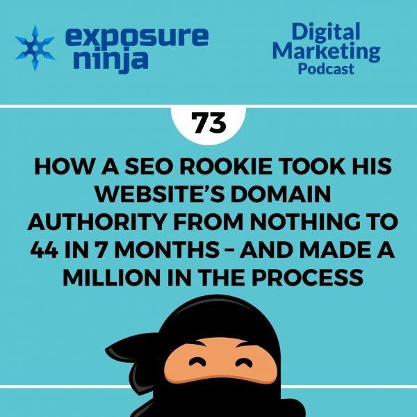 Picture of Shinobi Ninja Episode 73 on how a SEO rookie took improve his website domain