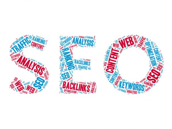 The abbreviation SEO made using dozens of common marketing phrases