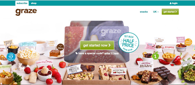 Graze-Homepage
