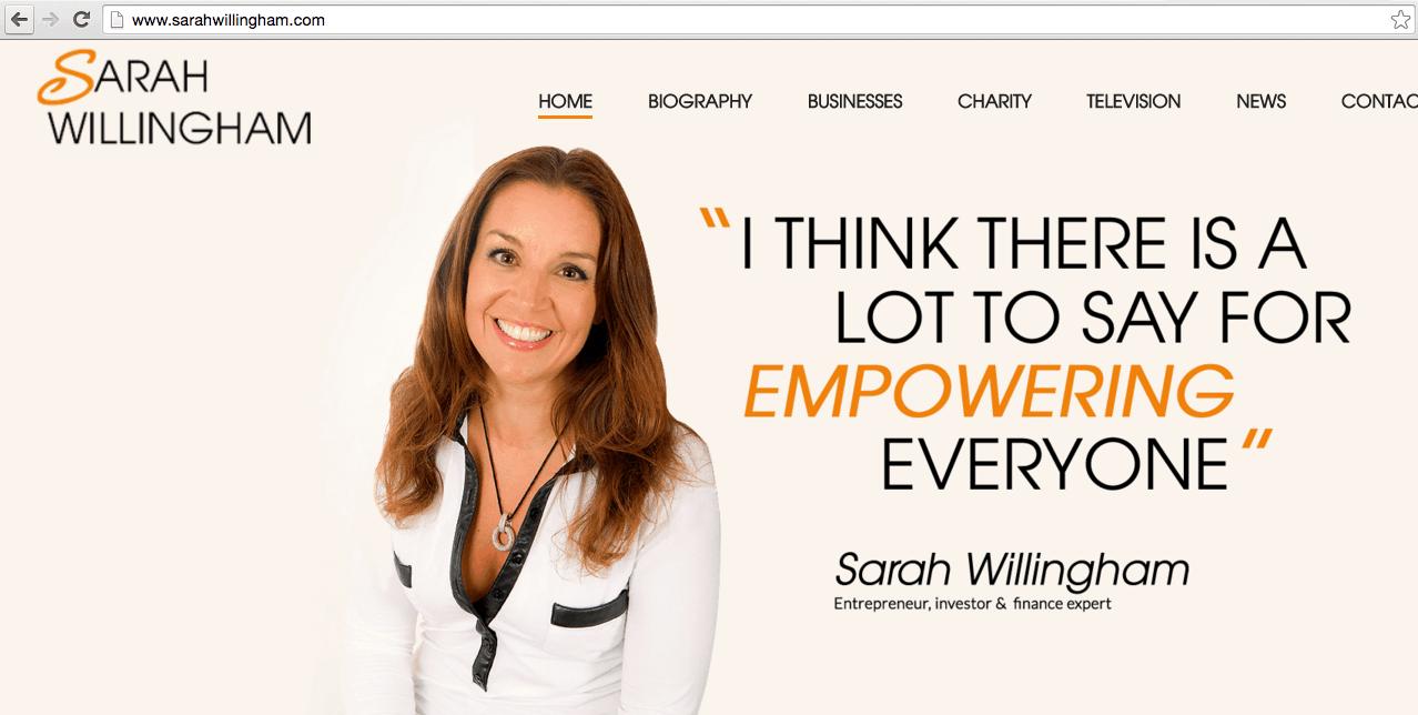 Sarah Willingham Exposure Ninja Site
