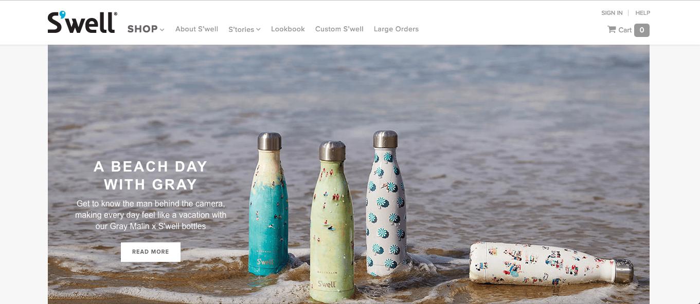 Swell-Homepage