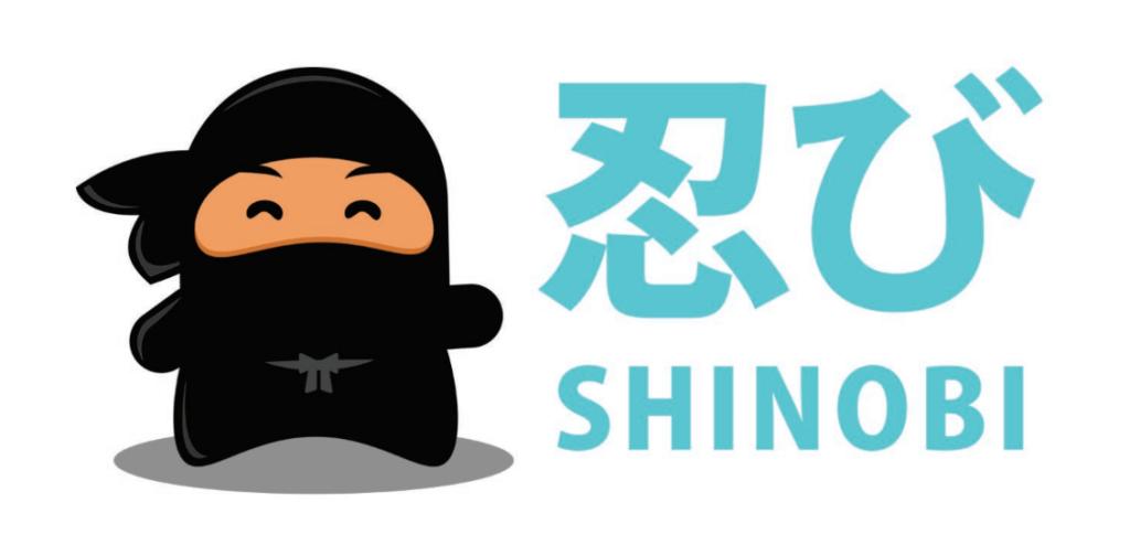 Graphic of Shinobi, the Exposure Ninja mascot