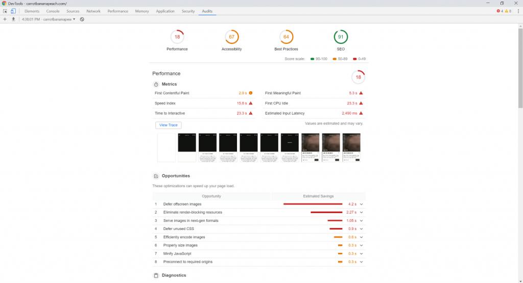 Google Lightspeed screenshot