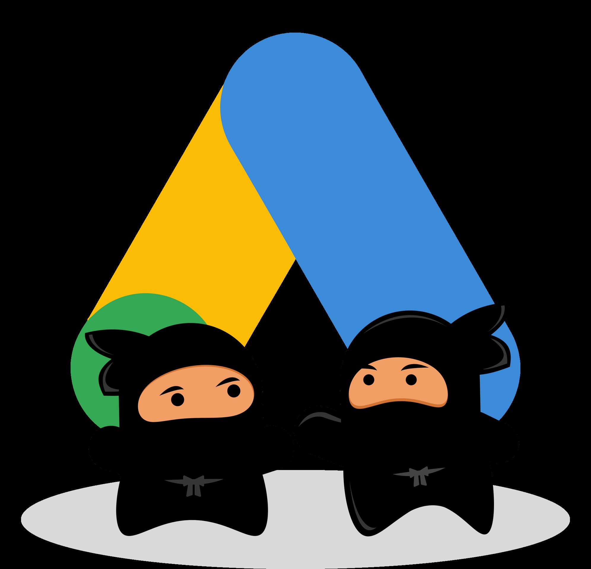 Shinobi's with Google logo