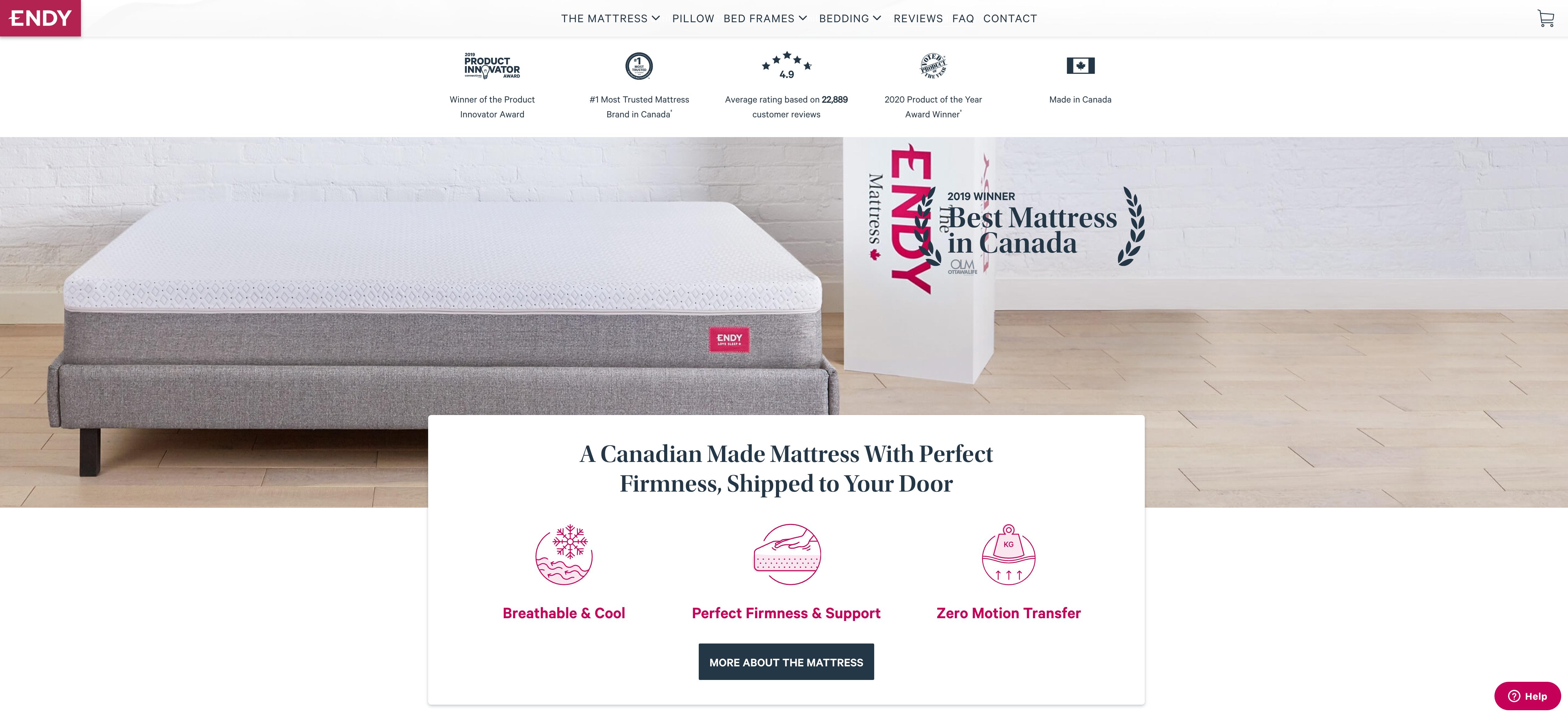 Endy Homepage