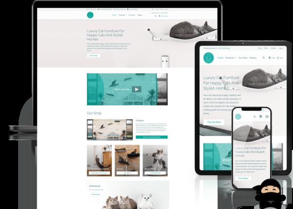 catipilla website build