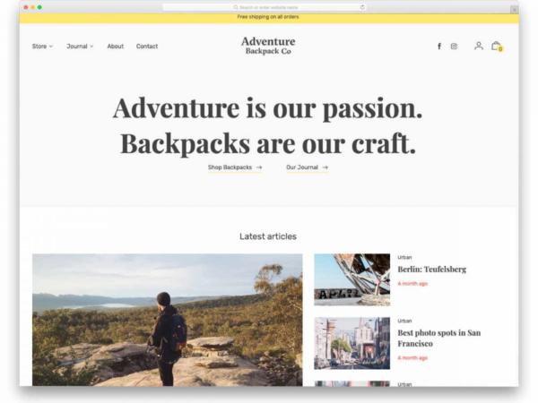 Adventure Backpack Co blog